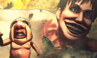 L'Attaque des Titans 2 : un trailer de gameplay où l'on découpe du titan entre potes