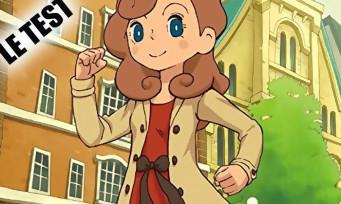 Test L'aventure Layton Katrielle 3DS : tel père, telle fille !