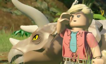LEGO Jurassic World : un trailer de lancement plein de briques et de dinosaures