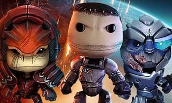 LittleBigPlanet : les costumes Mass Effect arrivent