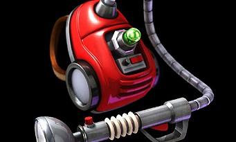 Luigi's Mansion 2 : l'aspirateur Poltergeist 5000 de Luigi pour de vrai !