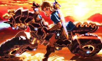 Mario Kart 8 Deluxe : la moto Master Cycle Zero de Link arrive, et c'est plutôt badass