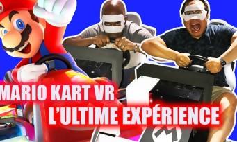 Mario Kart Arcade GP VR : on l'a testé à Tokyo, un rêve devenu réalité !
