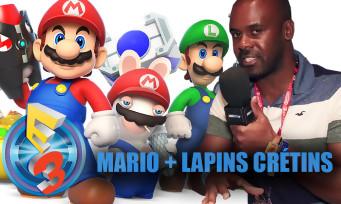 Mario + Lapins Crétins Kingdom Battle : on l'a essayé à l'E3 2017 et on a été agréablement surpris