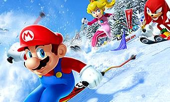 Test Mario & Sonic aux Jeux Olympiques de Sotchi 2014 sur Wii U