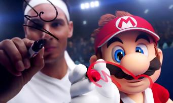 Mario Tennis Aces : un superbe trailer avec Nadal, le duel improbable