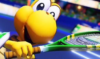 Mario Tennis Aces : Koopa Troopa et Blooper arrivent bientôt sur le court, 2 trailers colorés