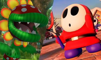 Mario Tennis Aces : 2 vidéos avec Flora Piranha et Maskass, Luma, Boom Boom et Pauline arrivent