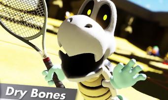 Mario Tennis Aces : Skelerex veut aussi taper dans la balle, une vidéo pour célébrer son arrivée prochaine