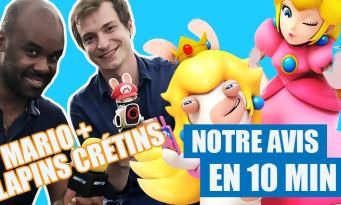 Test Mario + The Lapins Crétins : notre avis sur le jeu en 10 minutes !
