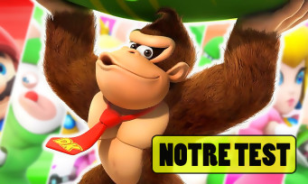 Test Mario + The Lapins Crétins Donkey Kong Adventure : le DLC au top