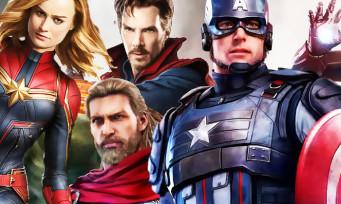 Marvel's Avengers : 15 super-héros jouables repérés dont Dr. Strange, Black Panther et Captain Marvel