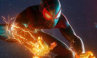 Spider-Man Miles Morales : enfin du gameplay en 4K sur PS5, de la voltige et des étincelles à foison