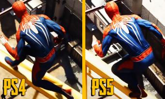 Spider-Man Remastered : un comparatif met côte à côte les versions PS4 et PS5