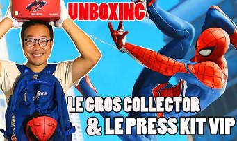 Marvel's Spider-Man : notre unboxing du gros collector et du press-kit VIP