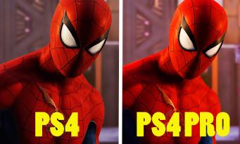 SPIDER-MAN : PS4 ou PS4 Pro, quelles sont les différences ? Un comparatif pour faire le point