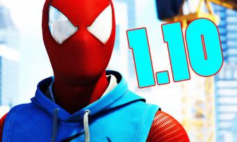 Spider-Man : la mise à jour 1.10 tisse sa toile, voici toutes ses nouveautés