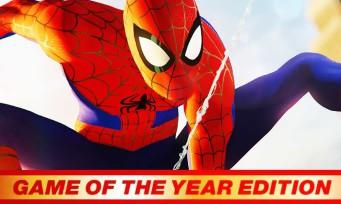 Spider-Man : l'édition GOTY avec tous les DLC et costumes arrive, un trailer toujours aussi épique