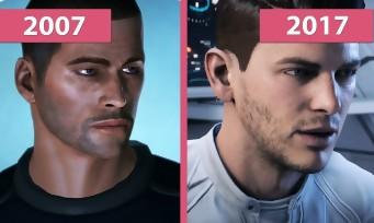 Mass Effect 1 VS Mass Effect Andromeda : le comparatif insensé, mais pas tant que ça...