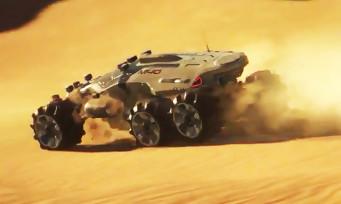 Mass Effect Andromeda : découverte en vidéo des planètes dites dorées