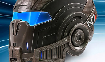 Mass Effect Legendary Edition : une édition collector avec le casque du Commandant Shepard