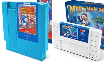 Mega Man : iam8bit réédite des cartouches NES et Super NES pour les collectionneurs