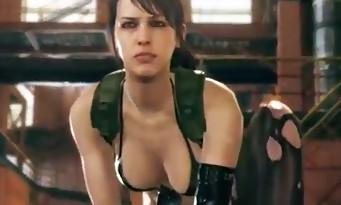 Metal Gear Solid 5 The Phantom Pain : Quiet dévoile ses pouvoirs en vidéo