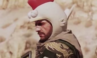 Metal Gear Solid 5 The Phantom Pain : un chapeau de poulet pour humilier le joueur