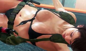 Metal Gear Solid 5 The Phantom Pain : découvrez la scène la plus hot et sexy de Quiet !