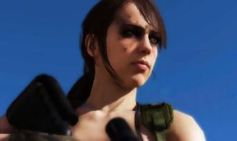 "Metal Gear Online : Quiet jouable dans le DLC ""Cloaked in Silence"""