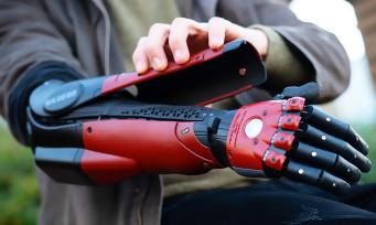 Metal Gear Solid 5 : le vrai bras bionique Venom Snake a été créé, la vidéo avec la prothèse