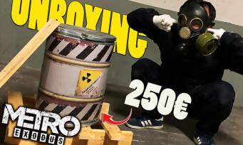 Metro Exodus : on vous fait l'unboxing du collector en mode film d'horreur