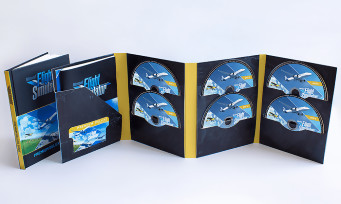 Microsoft Flight Simulator : sur PC, la version physique du jeu tiendra sur 10 DVD