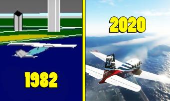 Microsoft Flight Simulator : une vidéo nostalgique qui revient sur tous les épisodes de la saga
