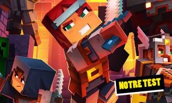 Test Minecraft Dungeons : un Diablo-like qui ne casse pas des briques...