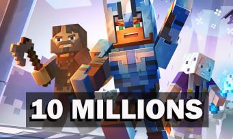 Minecraft Dungeons : plus de 10 millions de joueurs au total, d'autres chiffres révélés !