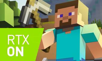 Minecraft : un trailer qui nous montre que le RTX arrive dans le jeu de Mojang