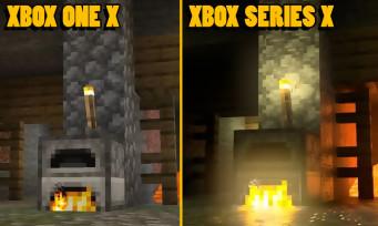 Xbox Series X : des images comparent Minecraft avec la version Xbox One, ray tracing à l'appui
