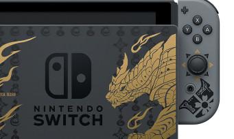 Nintendo Switch : une console collector Monster Hunter Rise arrive, il y a aussi une manette Pro avec