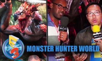 Monster Hunter World : on l'a vu à l'E3 2017 et ça s'annonce vraiment ambitieux !