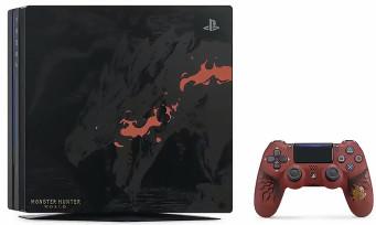 Monster Hunter World : une PS4 Pro collector magnifique et un nouveau trailer