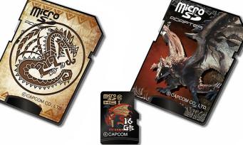 Monster Hunter : des cartes microSD collector aux couleurs de la série arrivent au Japon !