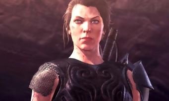 Monster Hunter World : Milla Jovovich sera jouable dans le jeu, la preuve en vidéo