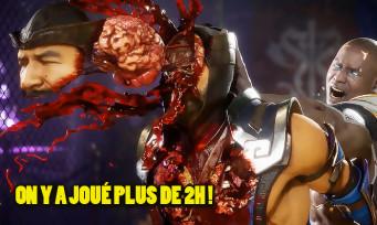 Mortal Kombat 11 : moins violent qu'avant, mais plus stratégique ? Notre analyse après 2h de hands-on !