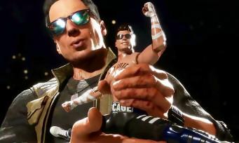Mortal Kombat 11 : Johnny Cage entre dans l'arène, sa Fatalité façon Hollywood est très drôle !