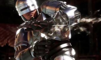 Mortal Kombat 11 : une nouvelle vidéo avec RoboCop, le flic de l'OCP se montre sans pitié