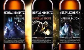 Mortal Kombat X a droit à sa bière officielle !