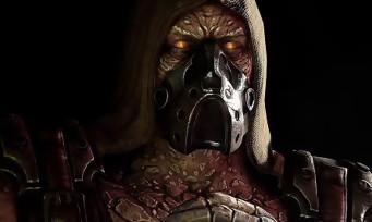 Mortal Kombat X : Tremor, l'homme-pierre, fait des ravages en vidéo