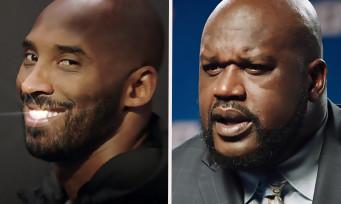 NBA 2K18 : Kobe Bryant trolle Shaquille O'Neal dans la première vidéo dédiée au jeu