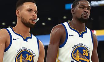 NBA 2K18 : des nouvelles images avec Howard, Curry et Durant